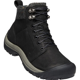 Keen Kaci II Winter Mid WP Sko Damer, black/steel grey